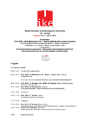 IKE, kongresový program 2017